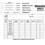 Standing rigging measurement guide