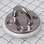 "Schaefer Pad Eye, Inv Cast, 2 1/2""(64mm)OD Base 78-07"