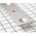 "Schaefer T-Track, 1""x1/8""(25x3mm), 8'(2.4m), Silver 40-68-C"