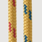 New England Ropes 7/16 x 600 Dingy Towline Yellow-flk