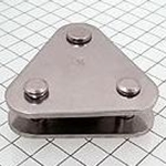 "Schaefer Triangle Link Plate, 3/8""(10mm) Pin 84-46"