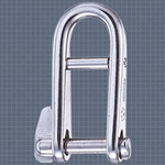 Wichard 1/4 KEY PIN HR SHACKLE WITH BAR