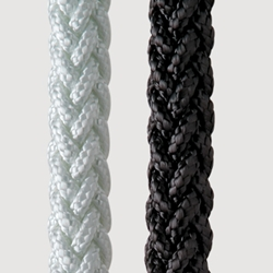 New England Ropes 1/2 X 600 MEGA BRAID II Black