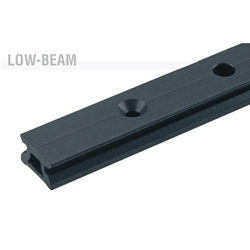 Harken Small Boat Low-beam CB Track w/100mm hole spacing  2720.1m