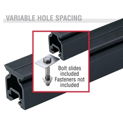 Harken Small Boat High-beam CB Slide Bolt Track  2721.1.5m