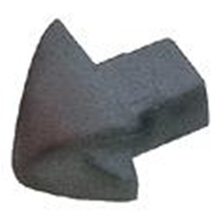 Harken Smallboat Low-beam Trim Caps (Pair)  2722